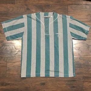 Vintage Point zero big striped baseball jersey